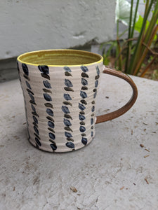 Cheery Brush Strokes Mug