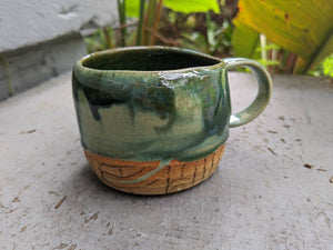 Drippy Natural Stoneware Mug
