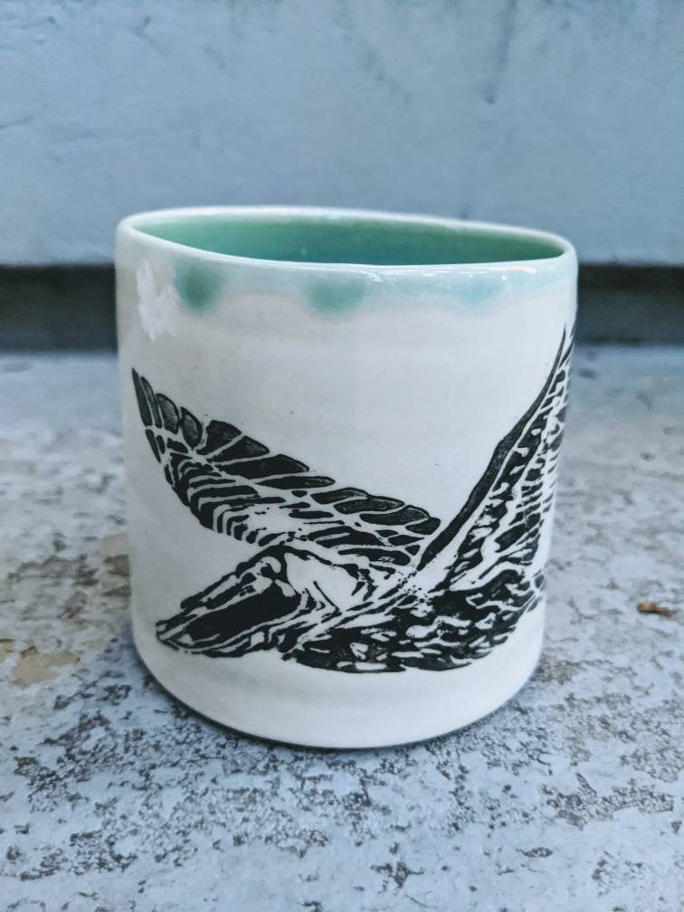 Lino Pelican at Sea Mug