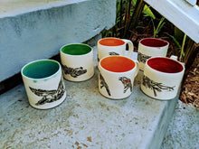 Load image into Gallery viewer, Gator and Red Winged Blackbird Mug