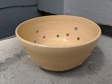 Load image into Gallery viewer, Small Peach Stoneware Berry Bowl