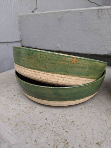 Black, Green and Natural Pasta Bowl