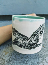 Load image into Gallery viewer, Lino Pelican at Sea Mug