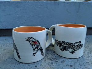 Gator and Red Winged Blackbird Mug
