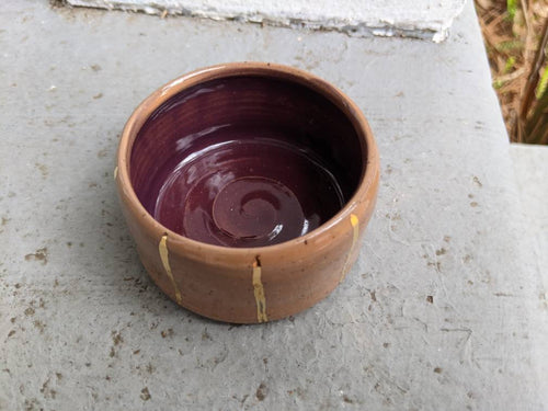 Pink & Purple Ring Bowl