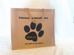 Jute-Tragtasche (Limited Edition)