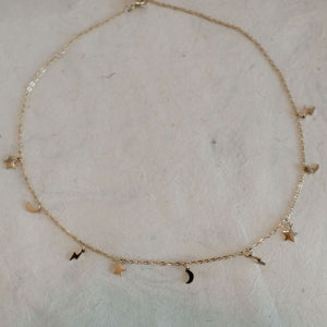 Lightning and Stars Choker