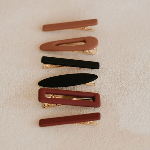 The Anika Hair Clips Set
