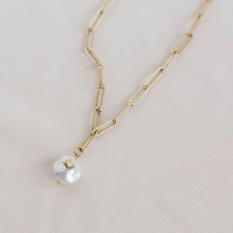 North Star Pearl Necklace