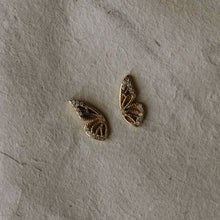 Load image into Gallery viewer, Butterfly Wings Earrings