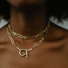Load image into Gallery viewer, Gold Atlas Necklace