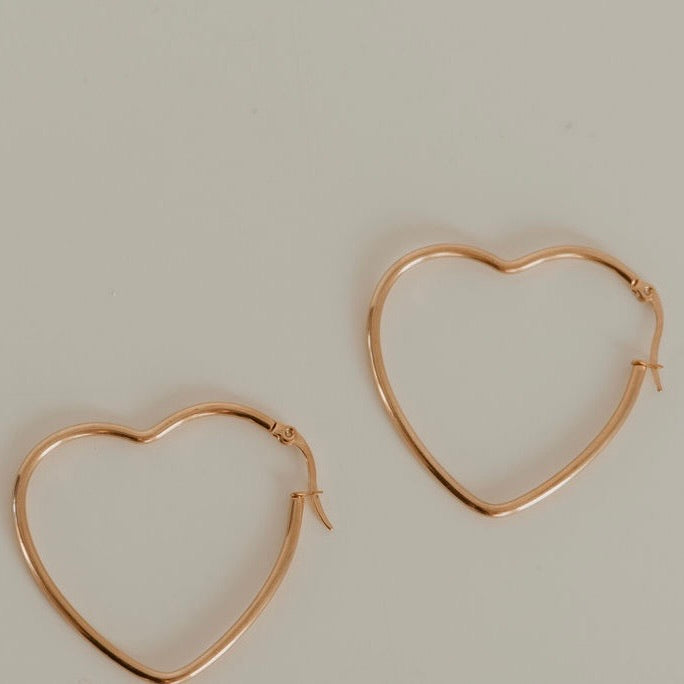 Desiree Heart Hoops