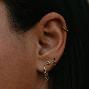 Black Dot Ear Candy Set