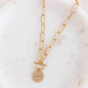 Saint Pendant Necklace