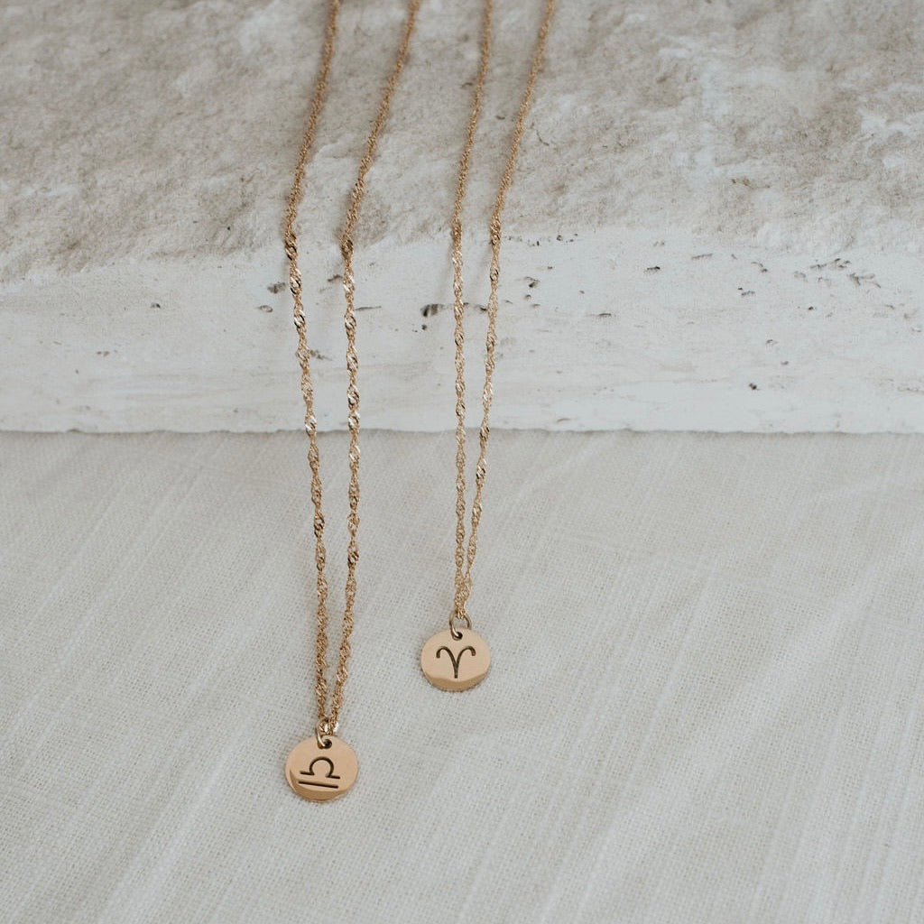 Zodiac Babe Necklace