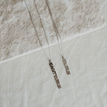 Load image into Gallery viewer, Zodiac Necklace Silver