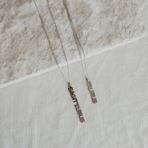 Zodiac Necklace Silver