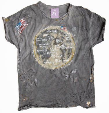 MOON MAP tshirt