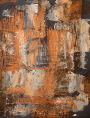 ORANGE ABSTRACT - ArtDepot