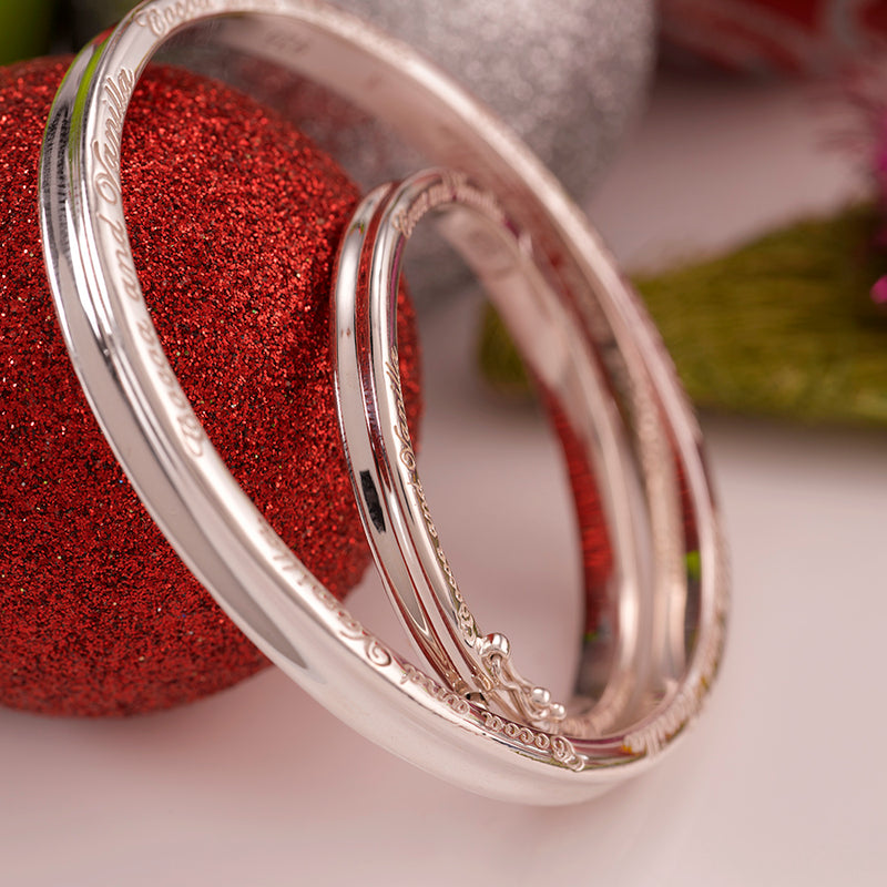 Baby Bangle  - Traditional - Silver