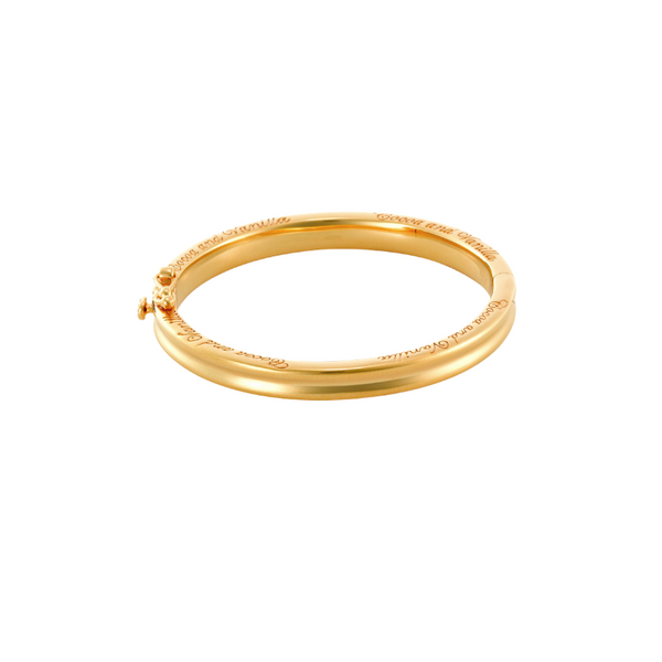 Baby Bangle  - Traditional Yellow Gold - End of Collection  - Sold Out