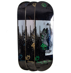 skateboard deck dna skate co fallen angel