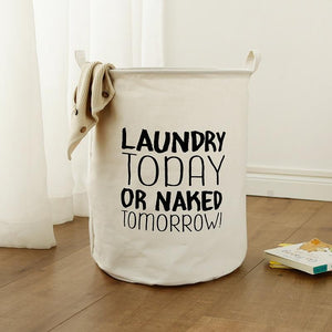 Simplistic Eco-Friendly Laundry Basket