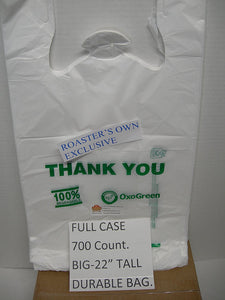 100% Biodegradable Shopping Bags (700) - Kind4Earth