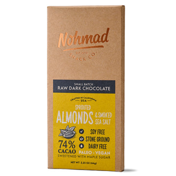 Almond & Smoked Sea Salt - 74% Cacao