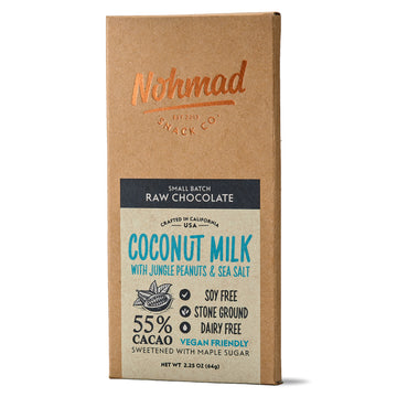 Coconut Milk w/ Jungle Peanuts & Sea Salt - 55% Cacao