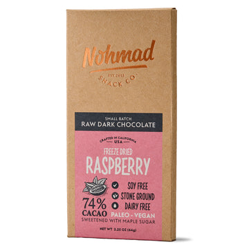 Freeze-Dried Raspberry - 74% Cacao
