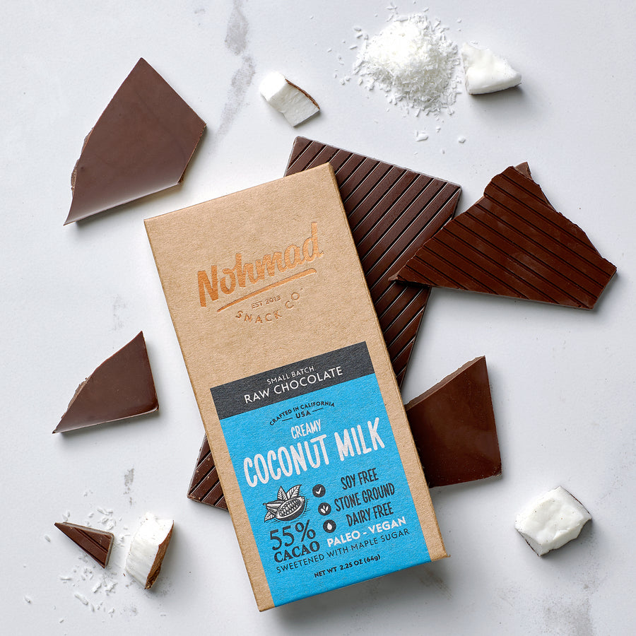 Coconut Milk Chocolate Bar