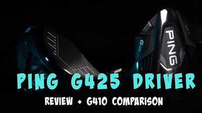 Ping G425 Driver FULL REVIEW (with flightscope) - Better than previous models?