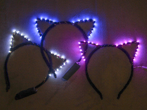 LED Kitty Ears