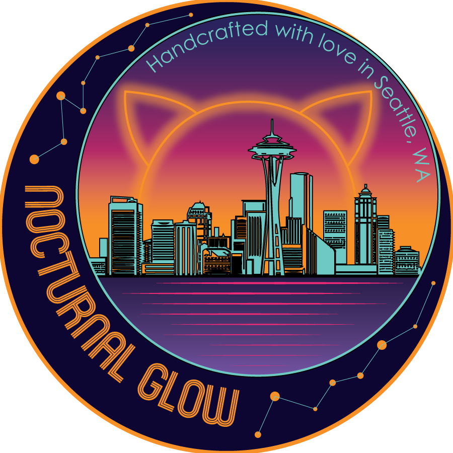 Nocturnal Glow Sticker