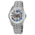 Bulova Classic Automatic Silver Dial Mens Watch 96A187