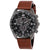 Citizen AR Eco-Drive Chronograph Black Dial Mens Watch AT2447-01E