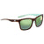 Costa Del Mar Panga Green Mirror 580 Polarized Square Ladies Sunglasses PAG 255 OGMP