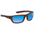 Costa Del Mar Whitetip Blue Mirror Polarized Glass Rectangular Sunglasses WTP 66 OBMGLP