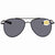 Costa Del Mar Cook Grey 580P Aviator Sunglasses COO 101 OGP