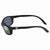 Costa Del Mar Brine Grey Wrap Sunglasses BR 11 OGP