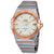 Omega Constellation Co-axial Silver Lozenge Automatic Mens Watch 123.20.38.21.02.008