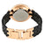 Anne Klein Black Dial Black Ceramic Ladies Watch 3310BKRG