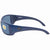 Costa Del Mar Blackfin Large Grey Rectangular Sunglasses BL 14 OGP
