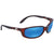 Costa Del Mar Brine Blue Mirror 580P Wrap Sunglasses BR 10 OBMP