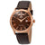 Orient Classic Automatic Brown Dial Mens Watch FEV0V002TH