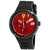 Ferrari FXX Red Dial Black Silicone Mens Watch 830473