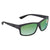 Costa Del Mar Green Mirror Polarized Plastic Rectangular Sunglasses UT 98 OGMP