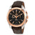 Omega Seamaster Aqua Terra Teak Grey Dial GMT Steel and 18K Rose Gold Automatic Mens Watch 23123435206001