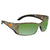 Costa Del Mar Blackfin Green Mirror Polarized Plastic Rectangular Sunglasses BL 69 OGMP